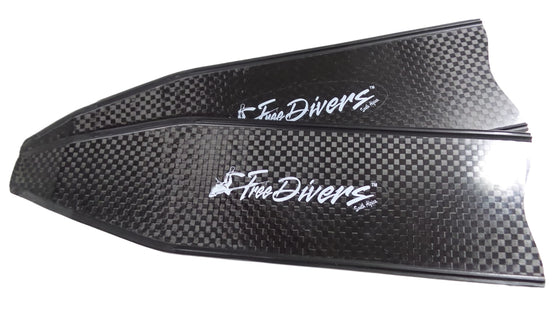 FreeDivers Pure Carbon Fin Blades