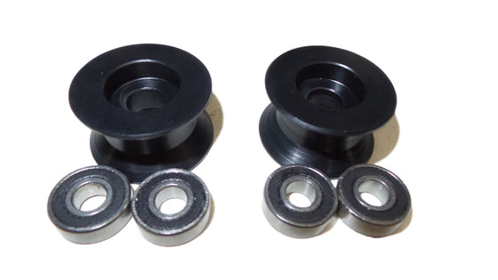 Ermes Sub Roller Wheels (Pair) - With Double S/S Bearings
