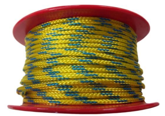 OBD Yellow Stripe Tying Line (per metre)