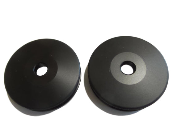 OBD Invert Pulleys (Pair) With Acetyl Bearing