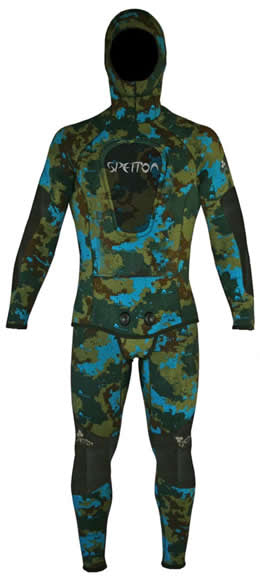 Spetton HexSkin 2.5mm Spearfishing Wetsuit
