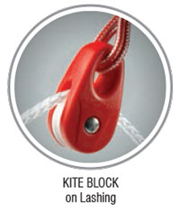 OBD Invert Roller Speargun Pulley - Simple Red
