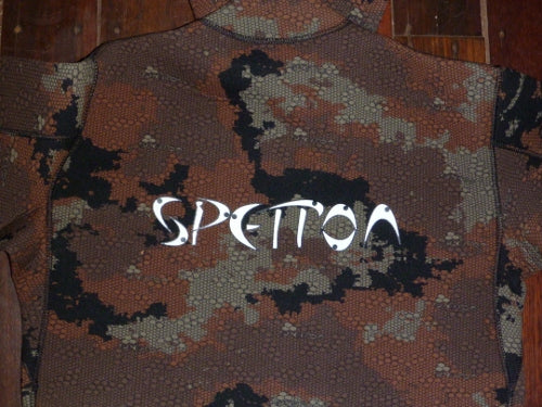 Spetton Brown HexSkin Spearfishing Wetsuit 3mm