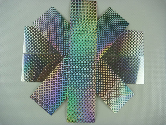 OBD Holographic Tape - Silver Scales