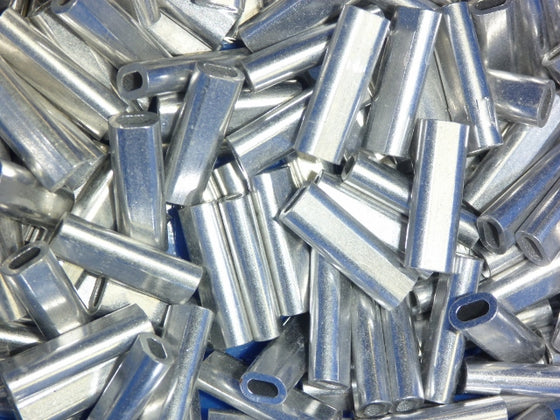 Alloy Crimps 1.7mm, 2.0mm & 2.3mm