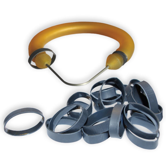 OBD Rubber Rings (20 Pack) - Black 19mm