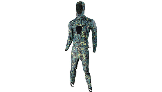 Tilos Green Camo Lycra 2-Piece Suit