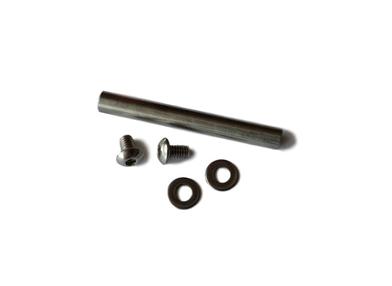 OBD Roller Axle With Screws & Washers 6mm