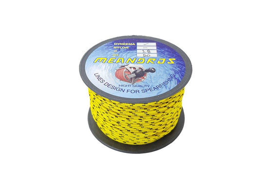 Meandros Dyneema Reel Line 1.8mm Yellow - 50m Roll