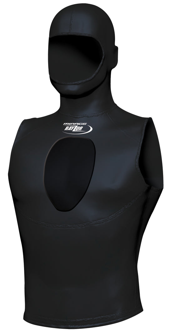 Mirage 3mm Neoprene Hooded Spearo Vest