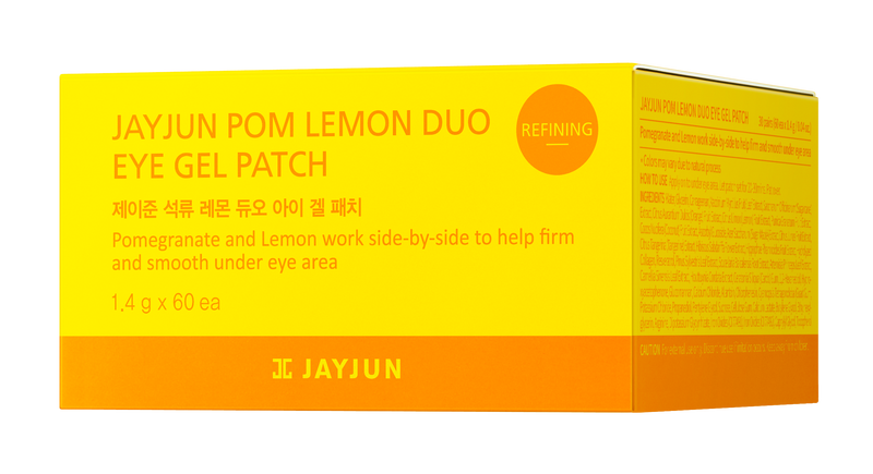 Jayjun Pom Lemon Duo Tea Eye Gel Patch