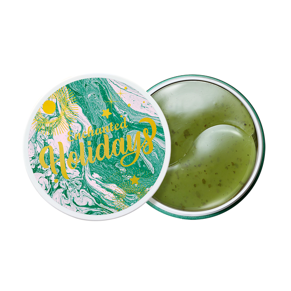 GREEN TEA EYE GEL PATCH HOLIDAY EDITION JAR