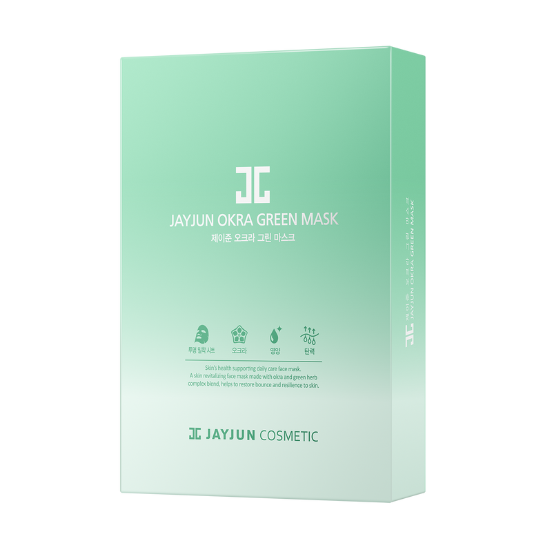 OKRA GREEN MASK-JAYJUN Cosmetic US