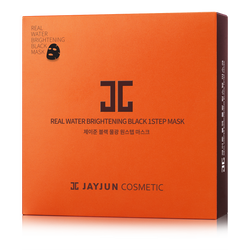 REAL WATER BRIGHTENING BLACK 1-STEP MASK-JAYJUN Cosmetic US