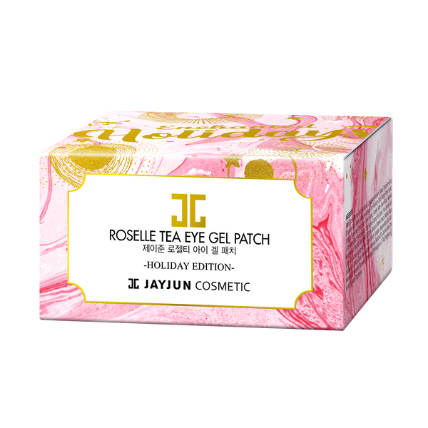 Roselle Tea Eye Gel Patch Holiday Edition Jar
