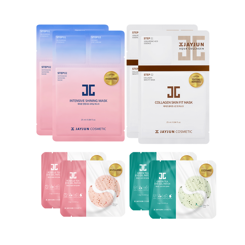 TOTAL CARE PACK - BESTSELLER MASKS & GEL PATCHES