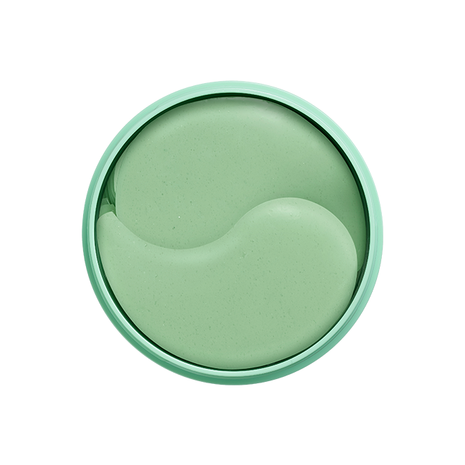 Okra Green Eye Gel Patch Jar