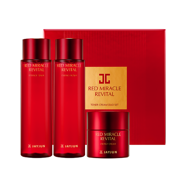 Red Miracle Revital Toner Cream Duo Set
