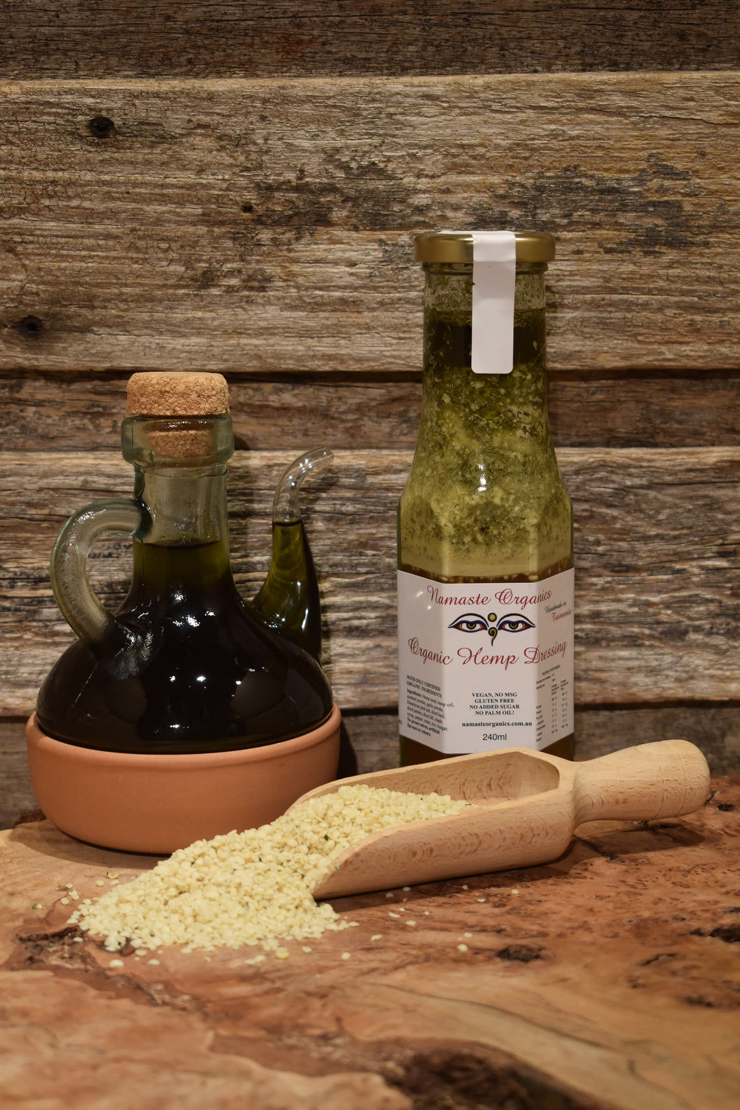 Organic Hemp Dressing 240ml
