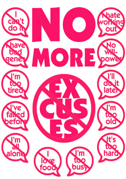 No More Excuses Lipo Laser Boot Camp