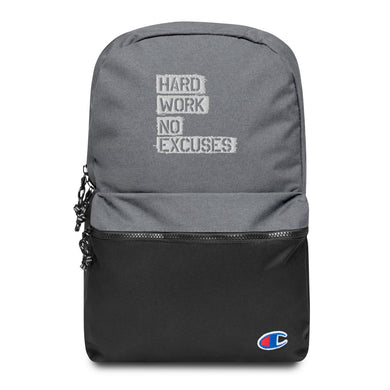 HWNE Embroidered Champion Backpack