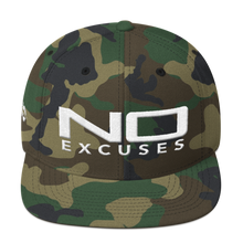 Load image into Gallery viewer, NO EXCUSES SNAPBACK HAT