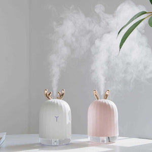 Ultrasonic Air Humidifier & LED lamp
