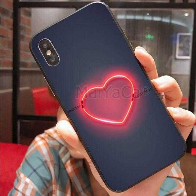 Neon iPhone Silicone case