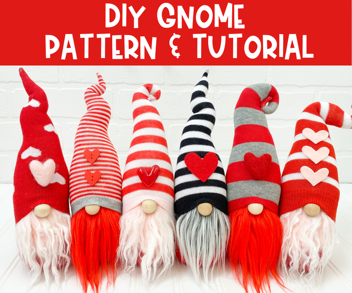 DIY Home Sweet Gnome Pattern & Tutorial - NO ADD-ONS INCLUDED