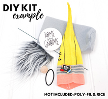 Load image into Gallery viewer, DIY Pencil Gnome Kit - NO SEW - 1017