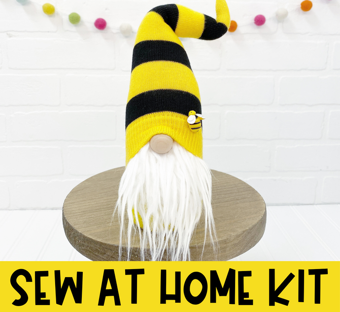 DIY Bee Gnome Kit - SEW AT HOME - 1024