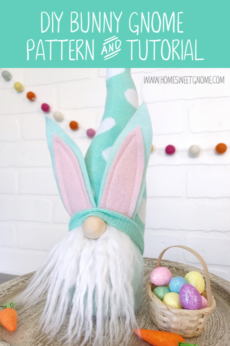 GROUP PATTERN - FULL DIY Bunny Gnome Pattern & Photo Tutorial