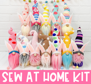 Mystery Easter Bunny Gnome Kit - SEW AT HOME