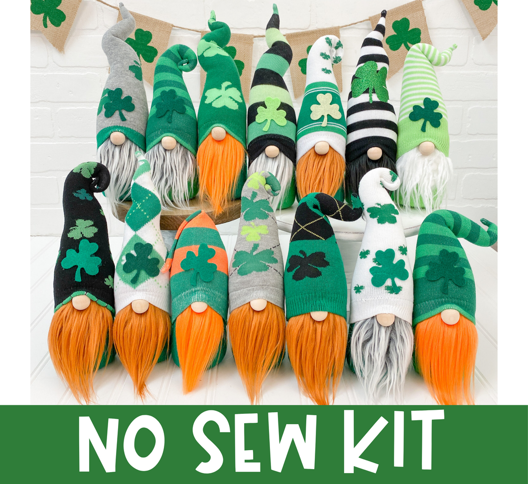 DIY Mystery St. Patrick's Day Gnome Kit - NO SEW
