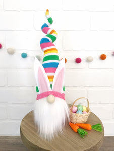 DIY Mystery Easter Bunny Gnome - SEW AT HOME