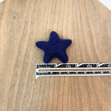 "Load image into Gallery viewer, 1.75"" Felted Star - Blue"