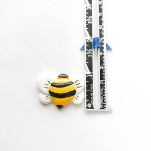 Flatback Resin Bee Embellishment