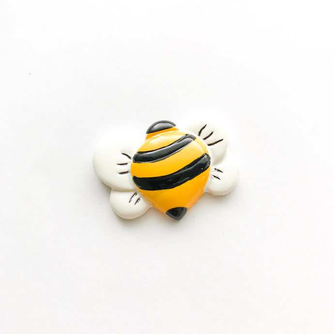 Flatback Resin Bee Embellishment - RESTOCK DELAYED DUE TO COVID-19