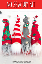 Load image into Gallery viewer, DIY Mystery Christmas Gnome - NO SEW KIT