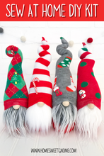 Load image into Gallery viewer, DIY Mystery Christmas Gnome - SEW AT HOME KIT