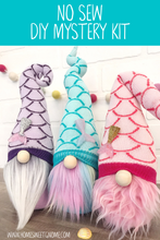 Load image into Gallery viewer, DIY Mystery Mermaid Gnome Making Kit - NO SEW KIT