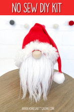 Load image into Gallery viewer, DIY Santa Gnome Making Kit - NO SEW KIT
