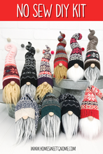 Load image into Gallery viewer, DIY Mystery Christmas Sweater Gnome - NO SEW KIT