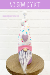 LAST CHANCE!! DIY Birthday Sprinkle Gnome Making Kit - NO SEW KIT