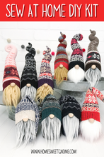 Load image into Gallery viewer, DIY Mystery Christmas Sweater Gnome - SEW AT HOME KIT