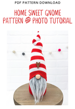 Load image into Gallery viewer, DIY Home Sweet Gnome Pattern & Tutorial - NO ADD-ONS INCLUDED - 2001