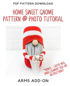 DIY Home Sweet Gnome - Pattern & Tutorial BUNDLE!! - 2004