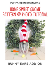 Load image into Gallery viewer, ADD-ON - DIY Bunny Ears Pattern & Tutorial - 2003