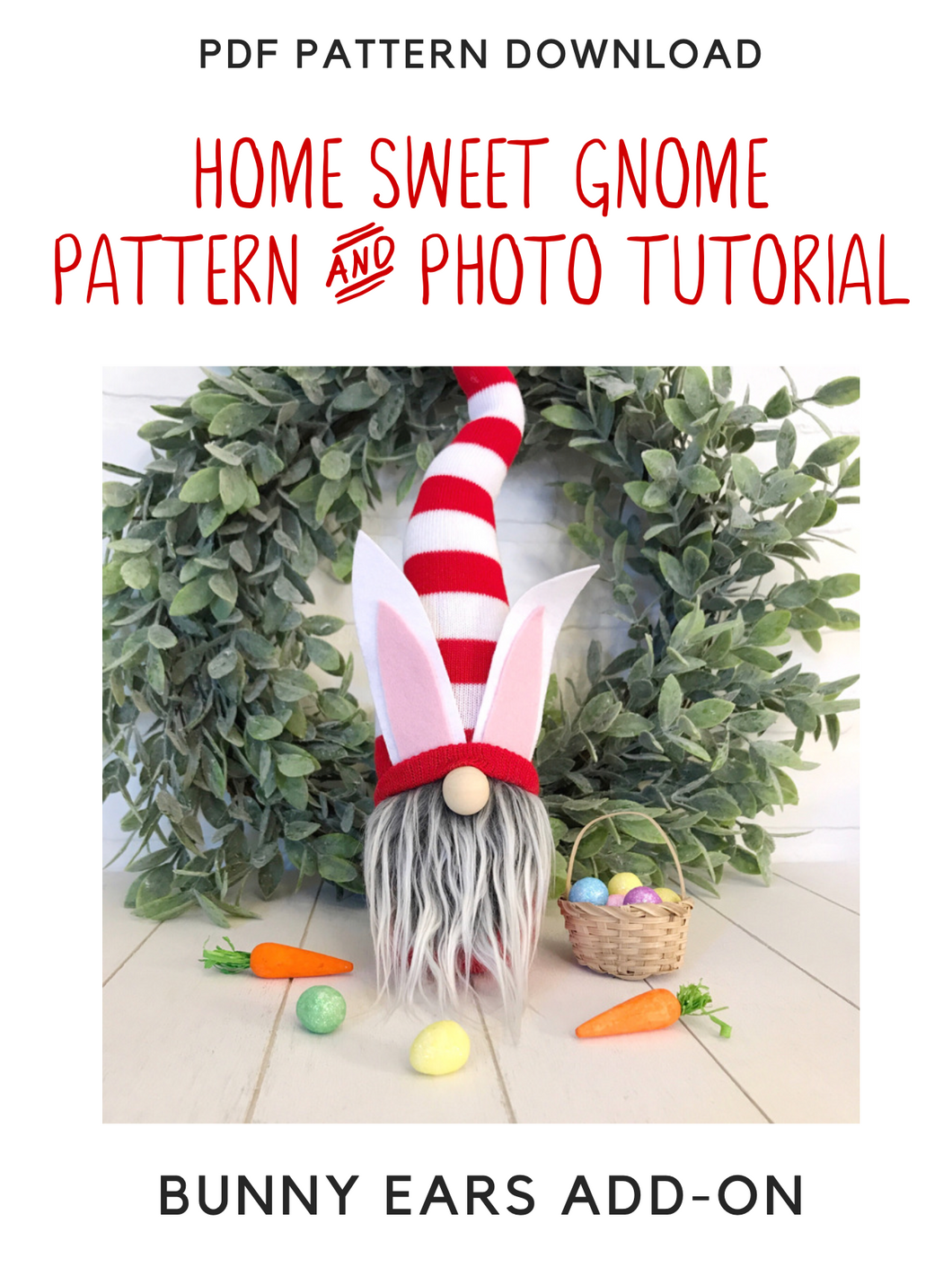 ADD-ON - DIY Bunny Ears Pattern & Tutorial