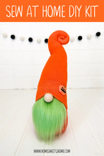 Load image into Gallery viewer, LAST CHANCE!! DIY Pumpkin Gnome Making Kit - SEW AT HOME